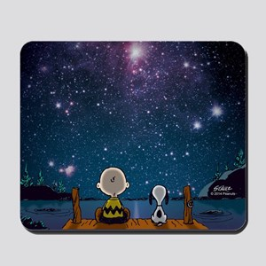 Spaced Out - Peanuts Mousepad